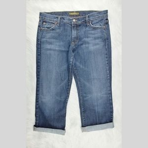 David Kahn | Heidi cuffed capri/crop  jeans